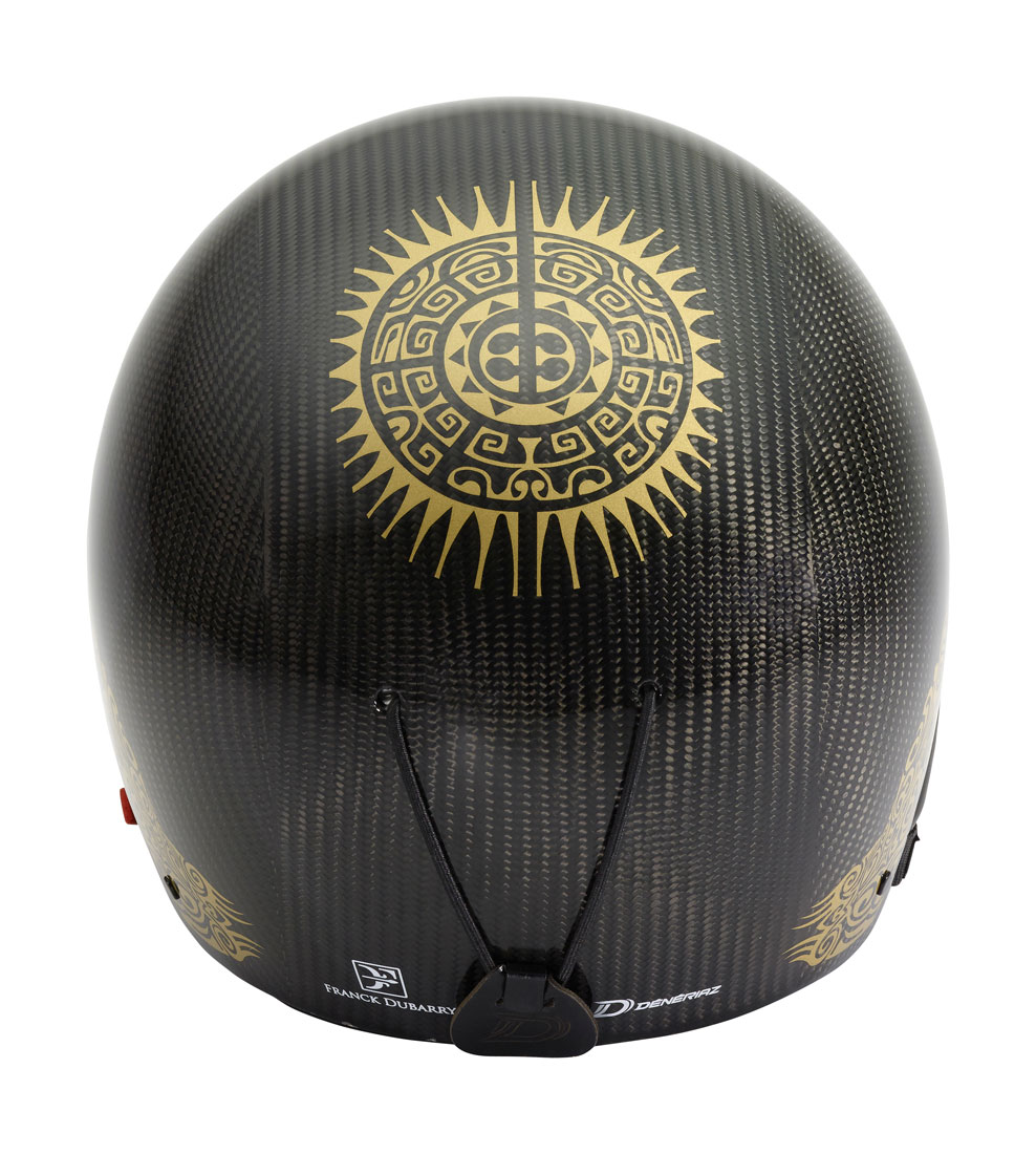 DUBARRY Helmet - Carbon Gold - Dos